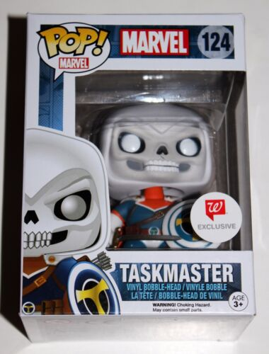 TASKMASTER FUNKO POP VINYL FIGURE WALGREENS EXCLUSIVE MARVEL #124 NIB RARE LTD