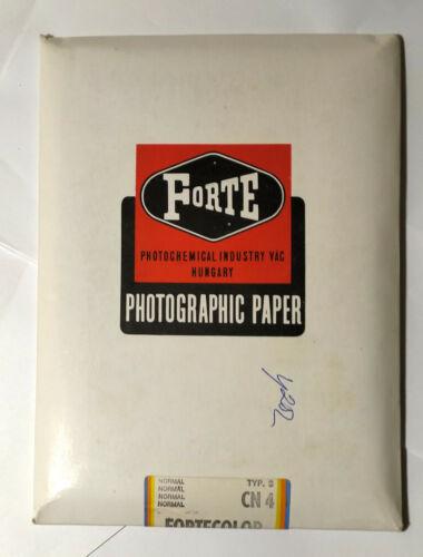 FORTE FORTECOLOR Hungary Color Photo Paper 13x18cm. 25pcs Unopened Unused CN4 t3