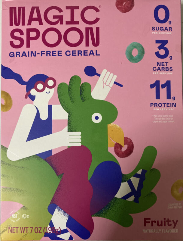 Magic Spoon Cereal Fruity Flavored