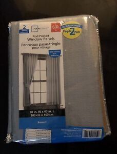 Moving Sale- New Curtains