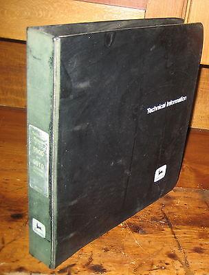 John Deere 9900 9910 Cotton Picker Technical Repair Manual Wbinder Jd