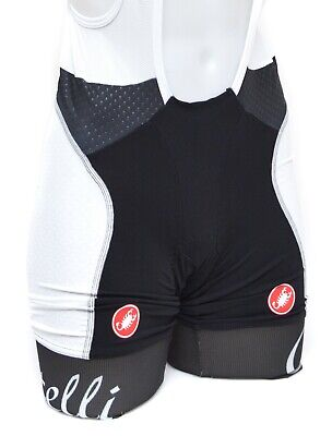 Castelli Donna Free Aero Women Cycling Bib Shorts LARGE Black Road Gravel covid 19 (Castelli Cycling Shorts coronavirus)