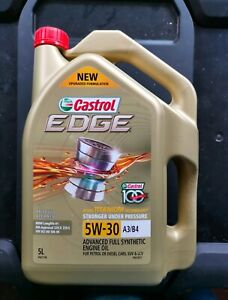 Brand New Castrol Edge 5W-30 5 Litre Engine Oil