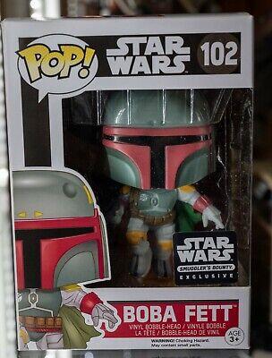Star Wars Smugglers Bounty Exclusive Boba Fett Pop #102