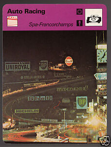 SPA-FRANCORCHAMPS-Race-Track-24-Hours-Le-Mans-Photo-1979-SPORTSCASTER-CARD-63-21