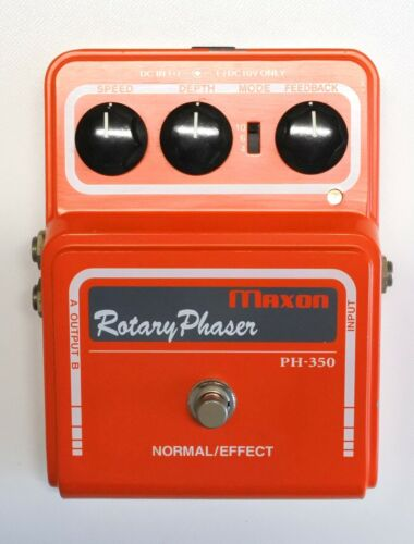Maxon PH-350 Rotary Phaser Guitar Effects Pedal #2 with Box DHL Express or EMS