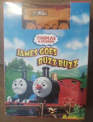 NEW Sealed Thomas & Friends DVD Wooden Train Bonus pack JAMES GOES BUZZ BUZZ