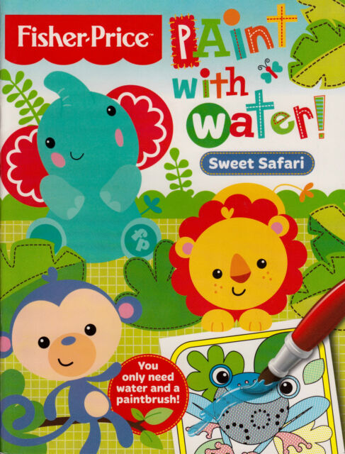 Sweet Safari Paint With Water NEW BOOK by Autumn Publishing Ltd (Paperback 2014)