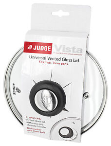 Judge Glass Spare Replacement Vented Saucepan Sauce Pan Lids Lid
