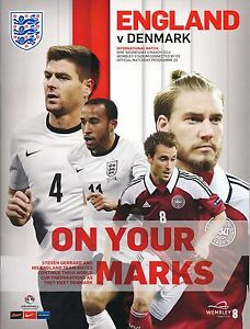 ENGLAND v Denmark (Friendly @ Wembley ) 2014