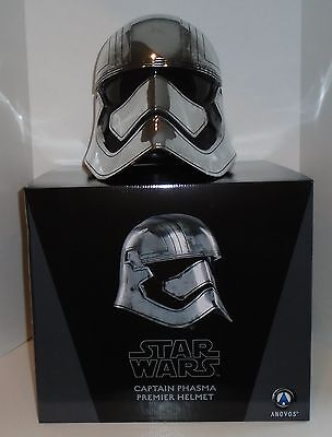 "STAR WARS ""CAPTAIN PHASMA"" Premier Helmet TFA Anovos 1:1 scale NEW  factory box"