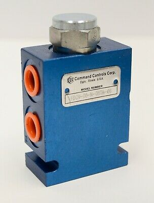 Command Control Corp Hydraulic Flow Divider Combiner Valve Fdcv-08-n-08ta Bucher