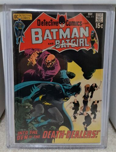 Detective Comics #411 (1971) 5.0 VG/FN - 1st Talia Al Ghul Neal Adams DC Key