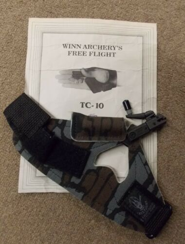 Winn Archery Free Flight TC-10 Release w/ Med Glove + a Large Glove RH