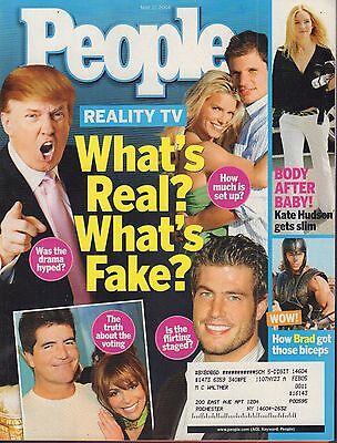 People May 17 2004 Donald Trump, Jessica Simpson w/ML 050617nonDBE