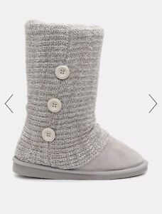 Greg cable knit boots