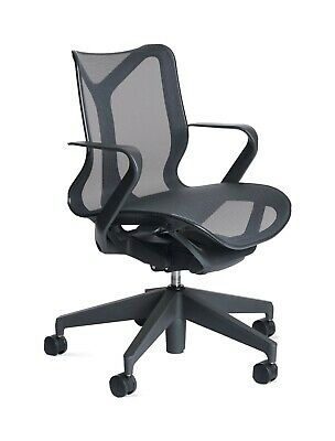 Authentic Herman Miller Cosm Chair Low Back Mesh Office Modern Desk Chair