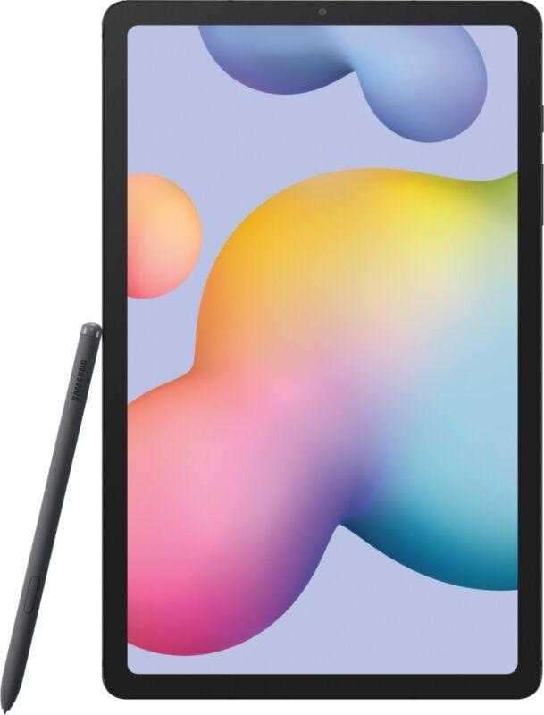 "Open-Box Excellent: Samsung - Galaxy Tab S6 Lite - 10.4"" - 64GB - Oxford Gray"