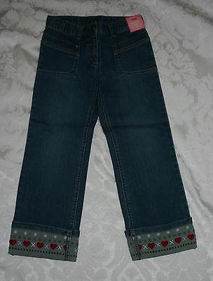 Gymboree Mountain Cabin Denim Jeans Heart Cuff