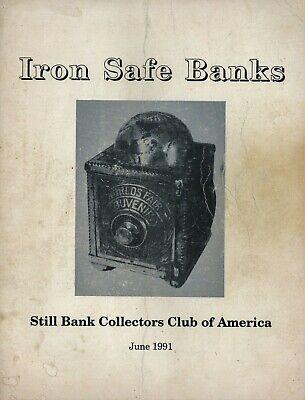 Antique Iron Safe Banks 333 ea. - Types Makers Models Dates / Rare Book