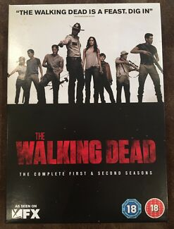 The Walking Dead Complete first and second seasons