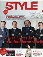 Style By Il Giornale- Set.2012 La Famiglia Botto Poala - Emanuela Folliero -  - ebay.it