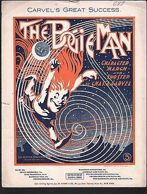 Bogie Man 1903 Large Format Sheet Music