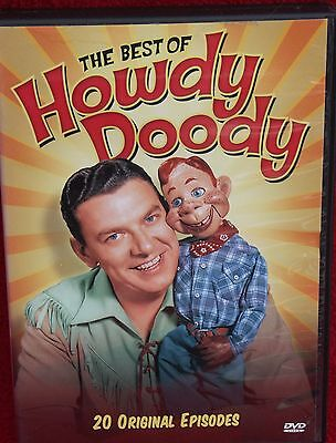 THE BEST OF HOWDY DOODY ~  20 EPISODES ~  OVER 10