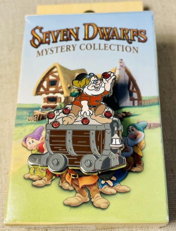 Disney Parks Seven Dwarfs Mystery Collection DOC Mine Train Car Pin