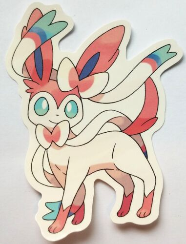 Sylveon - Pokemon Eeveelution Vinyl Sticker