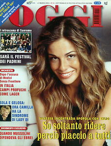 OGGI-N-10-3-MAR-2004-VANESSA-INCONTRADA-SPOPOLA-CON-ZELIG