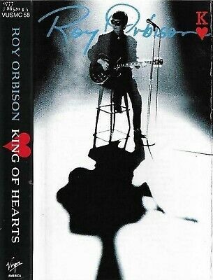 Roy Orbison King Of Hearts CASSETTE ALBUM ROCK Rock & Roll, Soft Rock
