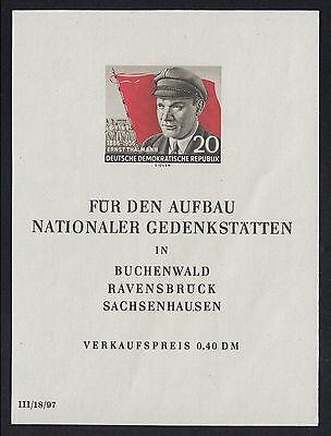 DDR Mi.Nr. Bl. 14 PF I postfrisch Mi.Wert 200€ (5881)