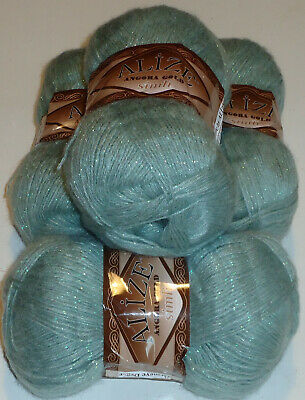 400g ALIZE GOLD SIMLI,GORGEOUS SOFT&SPARKLY MOHAIR BLEND KNITTING YARN,no.515