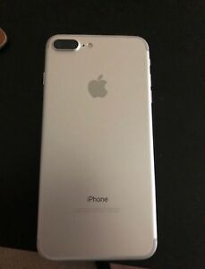 iPhone 7 plus ailver unlocked for trade