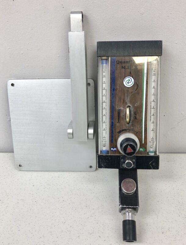 Fraser Quantiflex MDM Dental Nitrous Oxide Flowmeter For Patient Sedation