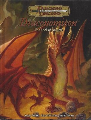 Free Dungeons And Dragons Rpg - Dungeons & Dragons RPG  Draconomicon HC 3.0 OOP NEW  FREE PRIORITY
