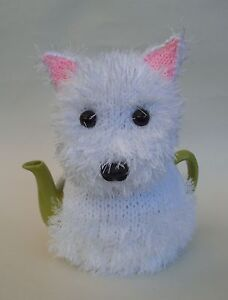 TeaCosyFolk Westie Tea Cosy Knitting Pattern - Knit your Own!