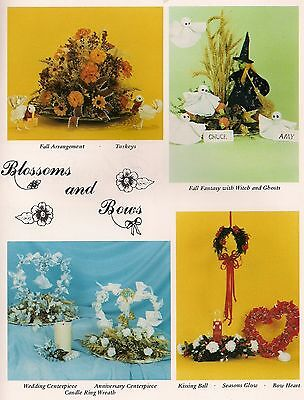 Wedding, Valentines, Fall & Halloween Patterns - Craft Book: Blossoms and - Halloween And Fall Crafts