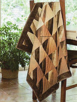 Wavy Blocks Quilt Pattern Pieced/Paper Pieced AS ()