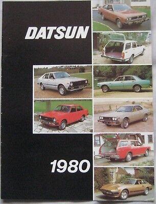 1980 Datsun range Brochure