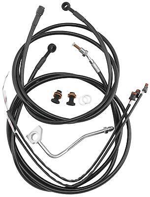 BURLY BRAND CABLE AND BRAKE LINE KITS, BLACK B30-1100