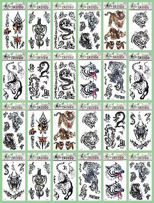 US Seller-50 sheets Halloween men guys boys temporary tattoo wholesale tatoo