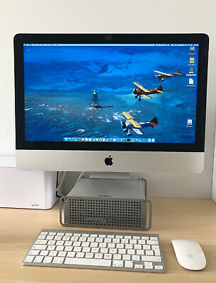 Apple iMac 21.5in (late 2013) SMALL CRACK OFF-SCREEN - i5 - 16GB RAM - 256GB SSD