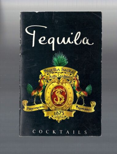 1963 Vintage Collectible TEQUILA SAUZA HTF Cocktail Recipe Booklet