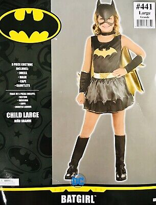 Girls Kids Bat Girl Costume Party Halloween Size Small (Girls Bat Girl Costume)