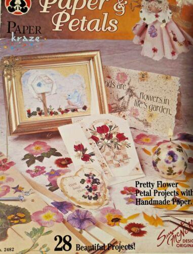Paper Kraze 1994 Paper & Petals 28 Projects  Handmade Paper #2482