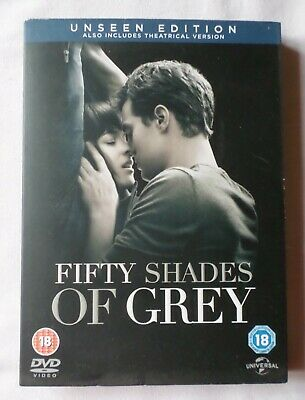 FIFTY SHADES OF GREY [Unseen Edition] (18) Region 2 DVD for sale  Shipping to South Africa