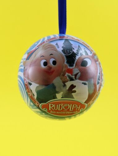 RUDLOPH the RED NOSED REINDEER Advent Surprise Inside Christmas Ornament