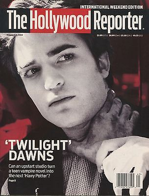 Robert Pattinson The Hollywood Reporter International Weekend Edition 10 2008